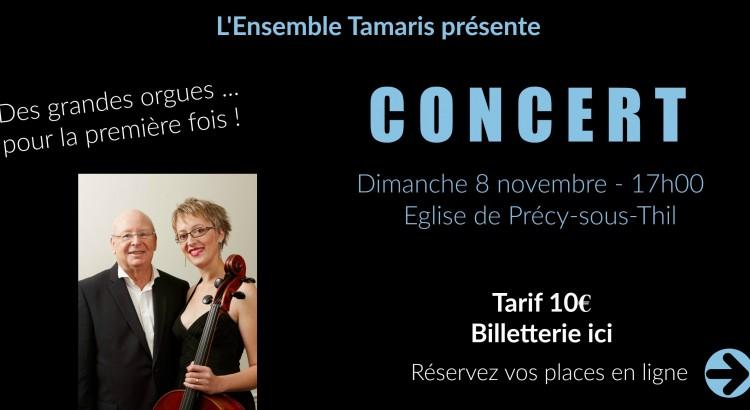 Précy Tourisme | Concert | Grandes Orgues