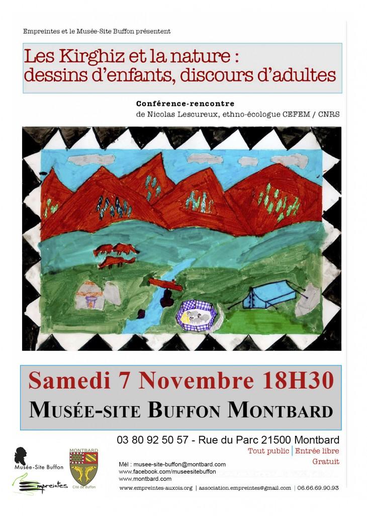 Association Empreintes - Musée Buffon : Conférence-rencontre avec Nicolas LESCUREUX