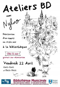 Affiche atelier Nylso