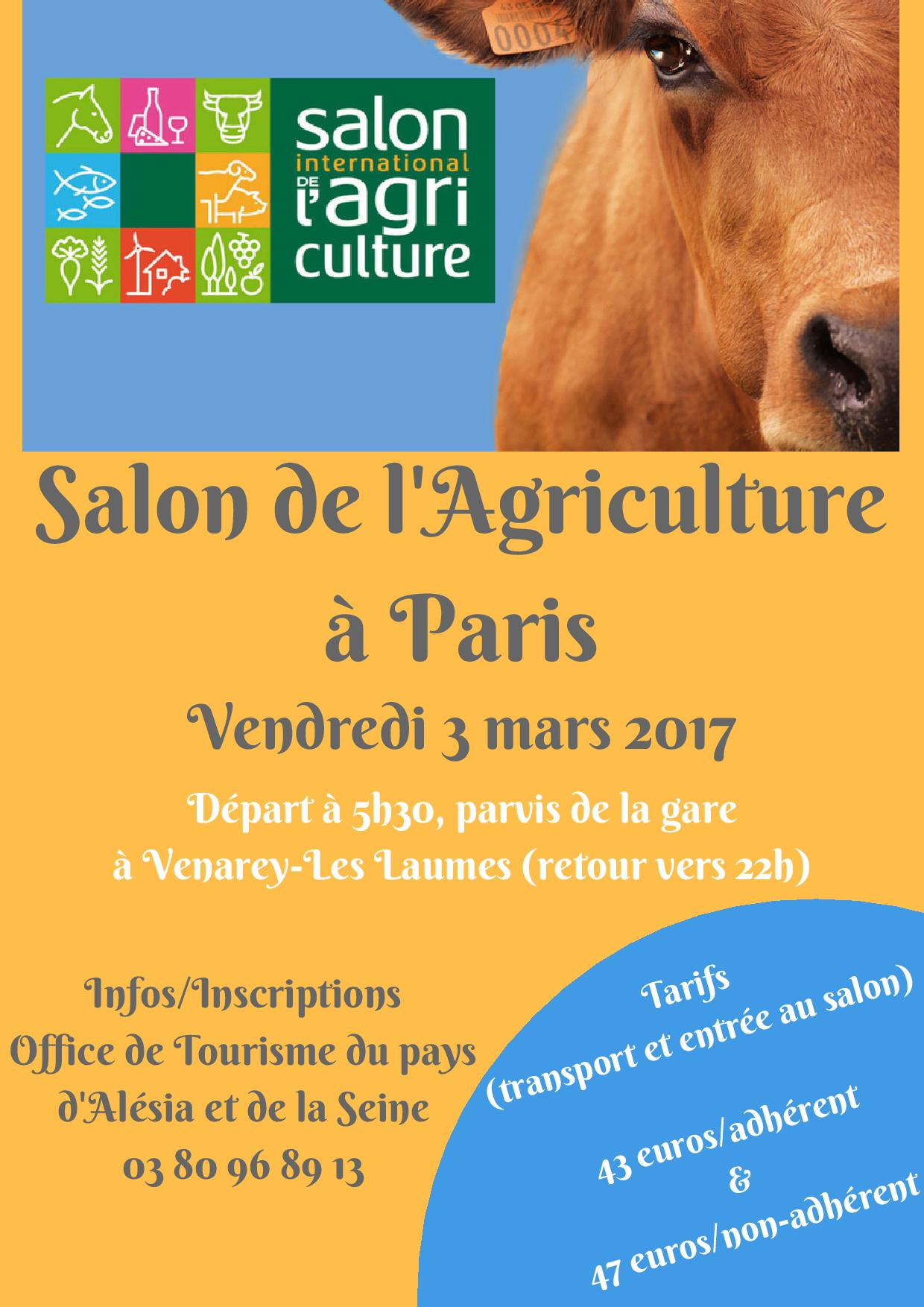 Sortie au salon de l agriculture paris agenda for Salon paris mars 2017